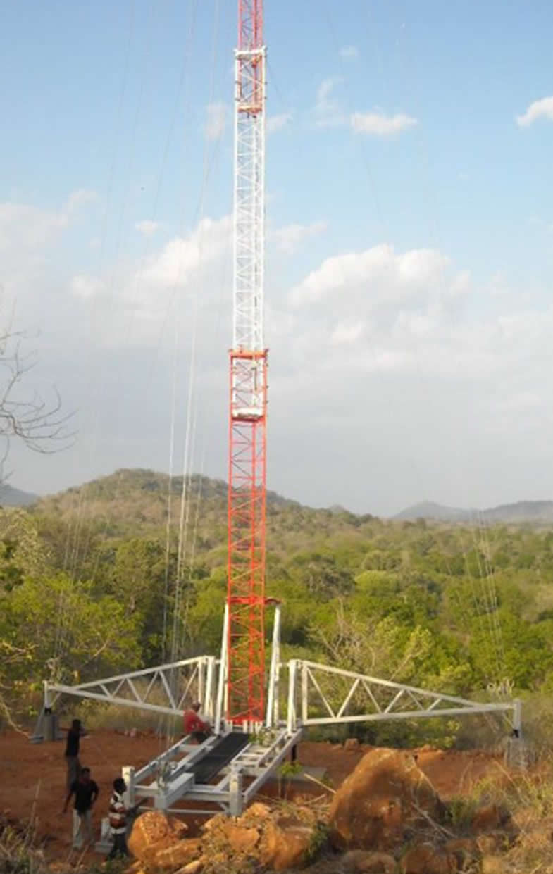 Rapid Deployment Tower With Base Model No Grdl Hurtz